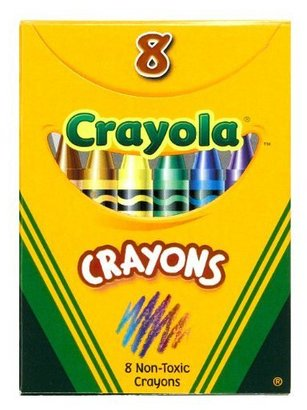 Crayola Classic Color Pack Crayons, 8 Colors/Box (52-3008)