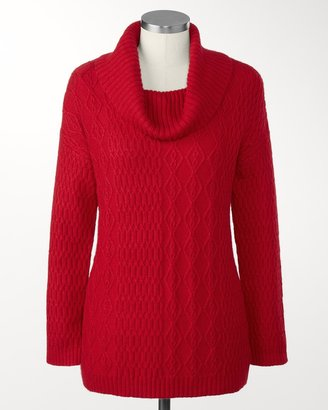 Coldwater Creek Soft touch cable sweater