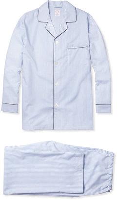 Brooks Brothers Striped Cotton Pyjama Set
