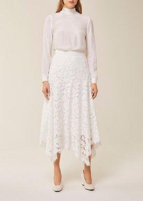 Ivy & Oak Midi Lace Skirt