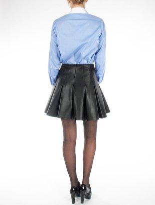 MSGM Waxed Lycra Skirt