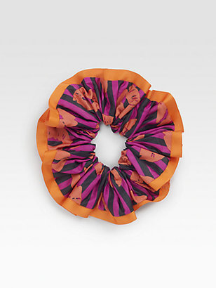 Marc by Marc Jacobs Striped Lips Scrunchie