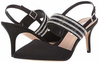 Nina Treena (Black/Clear) Women's Slip-on Dress Shoes
