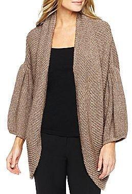 JCPenney Worthington® Metallic Cocoon Sweater Coat