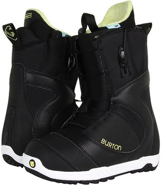 Burton Mint (Black/White) - Footwear