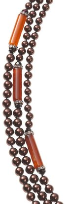 Coldwater Creek Deco pearly necklace