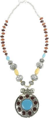 Forever 21 Tribal Medallion Necklace