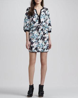Parker Mallory Floral Blouson Dress