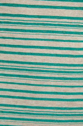 LAmade Shutter Stripe A Line Pleated Dress