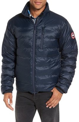Men's Canada Goose 'Lodge' Slim Fit Packable Windproof 750 Down Fill Jacket $495 thestylecure.com