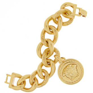 Versace Gold-plated chain link bracelet