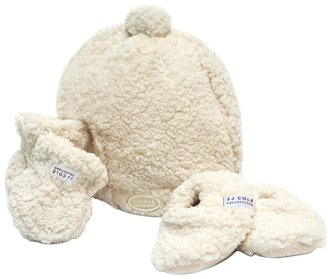 JJ Cole BundleMe Hat Set - White - One Size