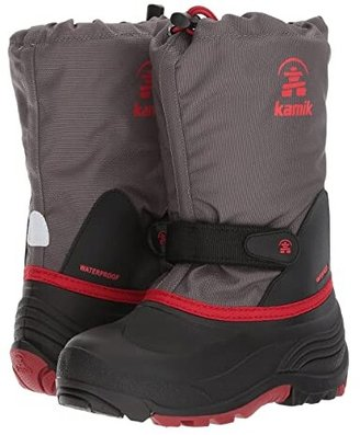 Kamik Waterbug Wide (Toddler/Little Kid/Big Kid) (Charcoal 1) Boys Shoes