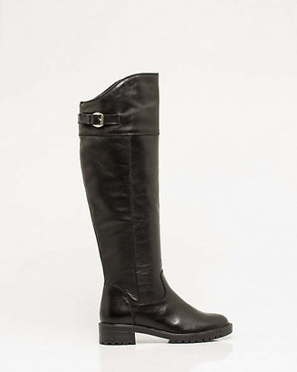 Le Château Italian Design Leather Lug Sole Boot