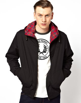 Fred Perry Hooded Tennis Jacket
