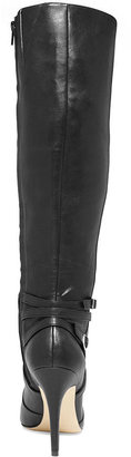INC International Concepts Women's Taigi Wide Calf Dress Boots