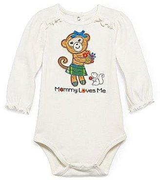 JCPenney Okie Dokie® Appliquéd Bodysuit - Girls newborn-12m