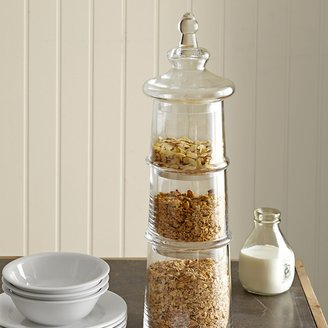 Williams-Sonoma 3-Tiered Glass Canister Set