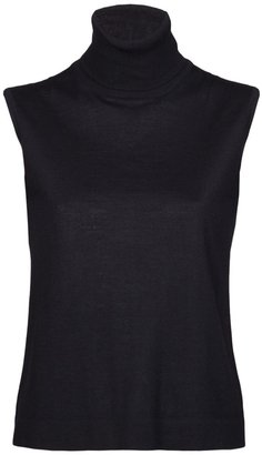 Hermes Vintage sleeveless turtleneck