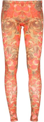McQ by Alexander McQueen floral legging