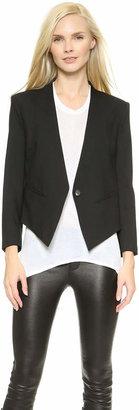 Helmut Lang Smoking Tux Blazer $575 thestylecure.com