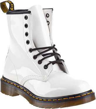 Dr. Martens 1460 Lace-up Boot White Patent