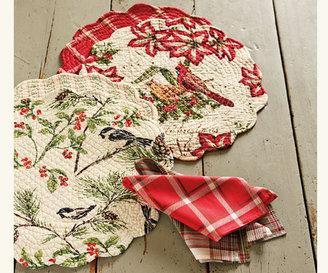 Napa Style Cardinal Holiday Linens
