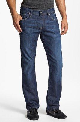 Men's Mavi Jeans 'Zach' Straight Leg Jeans $98 thestylecure.com
