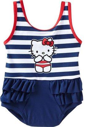 Hello Kitty Ruffle-Tank Swimsuits for Baby