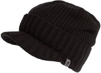 The North Face 'GTO' Rib Knit Visor Beanie (Men)
