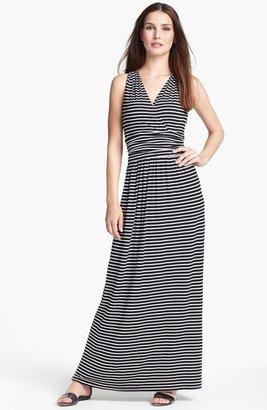 Chaus Stripe Maxi Dress