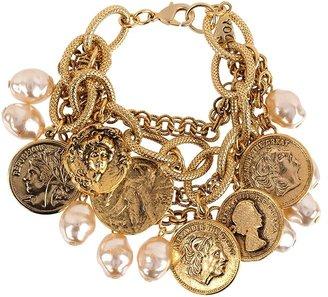 Yochi Design Vintage Charm Bracelet