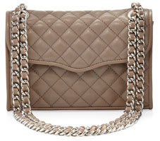 Rebecca Minkoff Affair Quilted Mini Shoulder Bag, Taupe