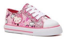 Hello Kitty Lil Lacey Girls Infant & Toddler Sneaker