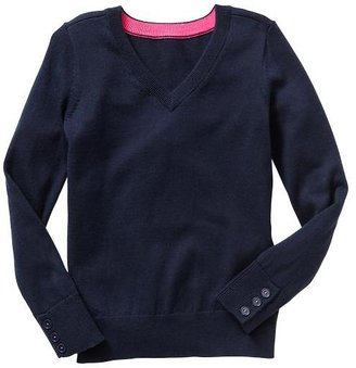 Gap V-neck button sweater