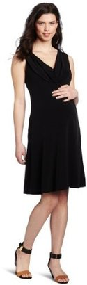 Ripe Maternity Women's Donna Cowl Dress