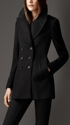 Burberry Wool Cashmere Pea Coat
