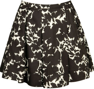 Forever 21 Floral Shadow Skirt