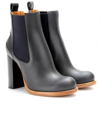 Chloé Bernie leather boots