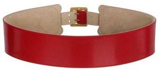 Alexander McQueen Heart Buckle Belt