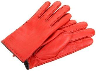 Lauren Ralph Lauren 1 1/2B Sheepskin (Red/Black) - Accessories