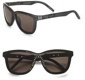 Alexander Wang Zipper Motif Sunglasses/Matte