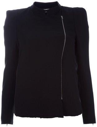 Sonia Rykiel asymmetric zip jacket