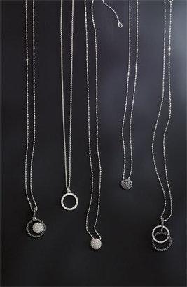 Nordstrom Bony Levy 'Circle Links' Diamond Pendant Necklace Exclusive)
