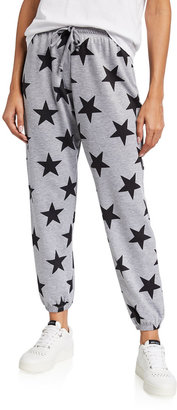 Onzie Star-Print Fleece Sweatpants