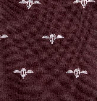 Corgi Parachute Regiment Patterned Cotton-Blend Socks