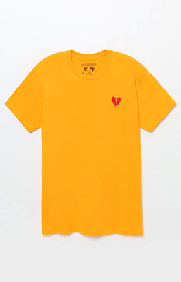 Riot Society Heart Embroidered T-Shirt