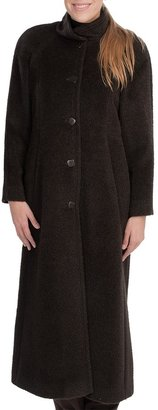 Sachi Collection Full-Length Coat - Suri Alpaca-Wool (For Women)