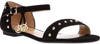 Armani Jeans studded flat sandal