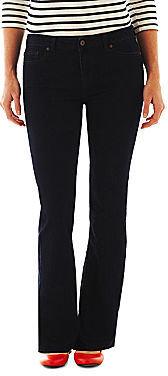Liz Claiborne 5-Pocket Classic Bootcut Jeans